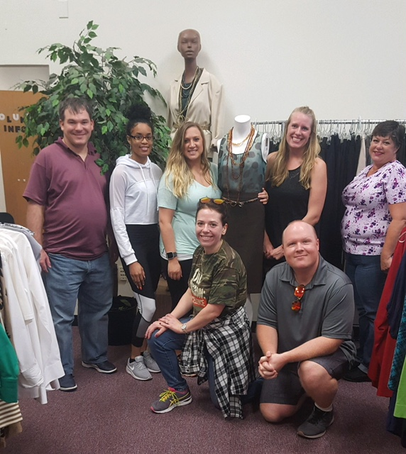 South University Online >> South University Online Employees Help Dress For Success